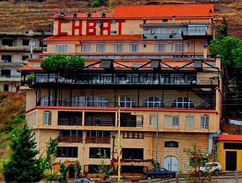 Hotel Chbat Cedars and Bcharreh Lebanon - Front view