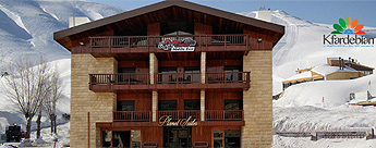 Planet Suites Hotel Mzaar Ski Resort Lebanon