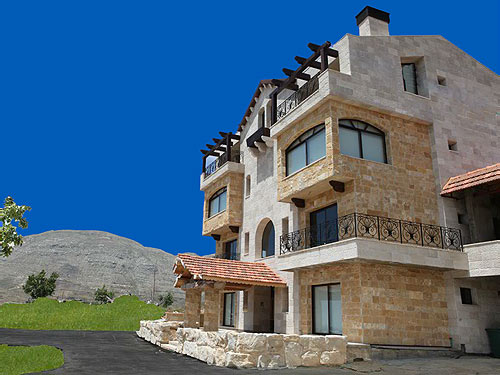 Triple Jay Faraya Chalets Faraya Lebanon - Perspective and mountains
