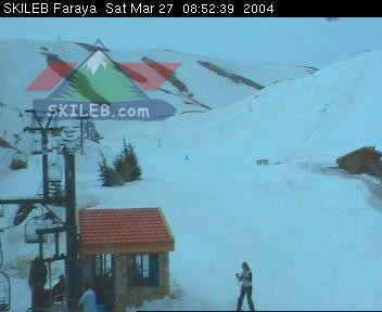 Mzaar Ski Resort Kfardebian Lebanon webcam on 03271708 by SKILEB.com