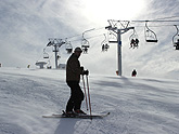 Jonction chairlift in Mzaar Lebanon
