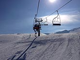 Renard chairlift Mzaar ski resort