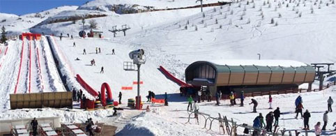 Daily ski tours from Beirut to Zaarour Club resort Lebanon