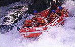 Rafting in Al Assi river Lebanon