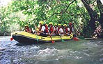 Rafting and kayaking in Litani river Lebanon