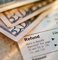 Lebanon airport tax refund