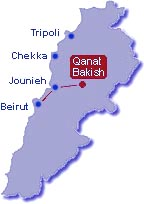 Qanat Bakiche map and driving directions by SKILEB.com