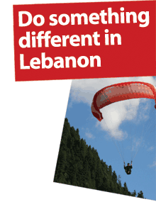 Summer activities in Lebanon