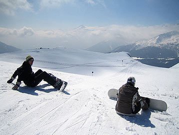 Basics of snowboarding in Lebanon
