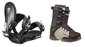 Snowboard bindings by SKILEB.com